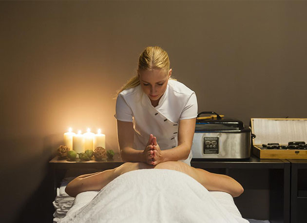 Wellness arrangement van Grand Hotel Ter Duin